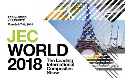 Composites Evolution Announces New Prepregging Business at JEC WORLD 2018