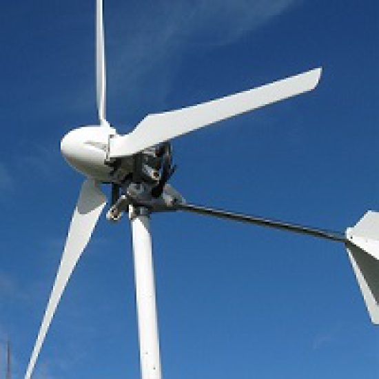 Blades for Rooftop Wind Turbine manufactured from Composites Evolution's Biotex Flax