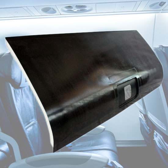 Non-Phenolic Aircraft Overhead Locker