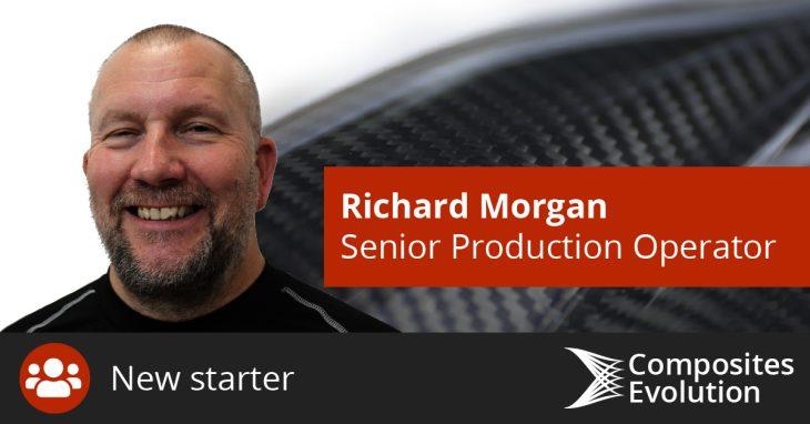 Richard Morgan joins Composites Evolution as Senior Production Operator