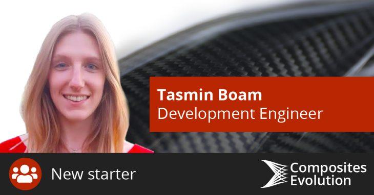 Tasmin Boam joins Composites Evolution as Development Engineer
