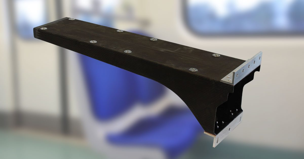 Lightweight Train Seating Support