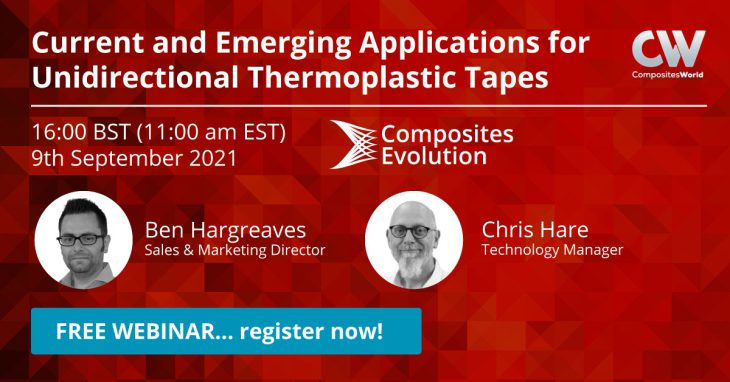 Don't miss our webinar on thermoplastic tapes!